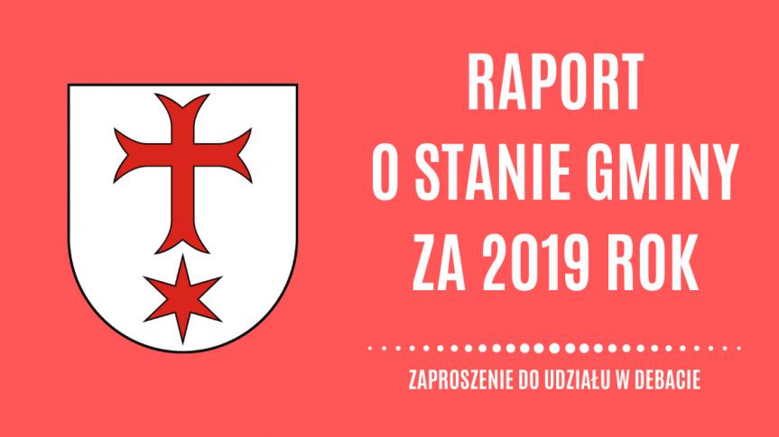 Herb gminy wraz z zaproszeniem do debaty