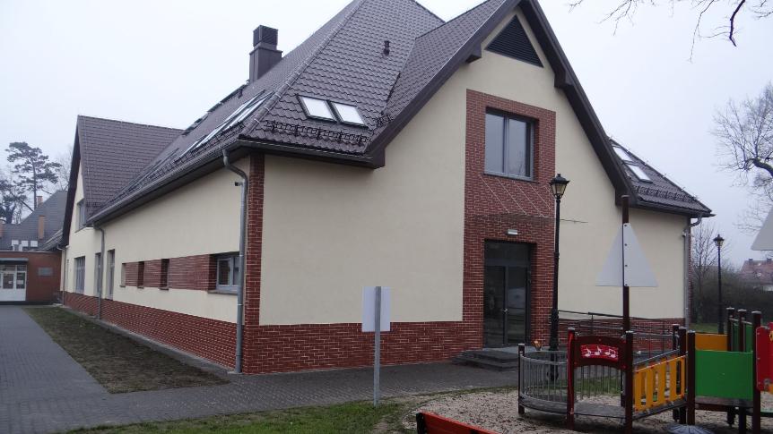 Nowa Szkoła Podstawowa w Świętej Katarzynie czeka na powrót uczniów (ZDJĘCIA)