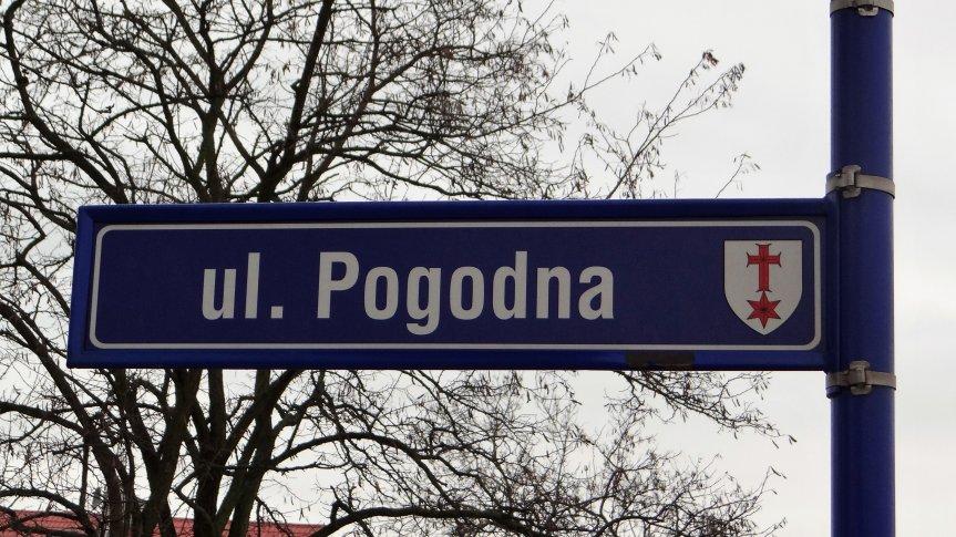 Ulica Pogodna w Groblicach