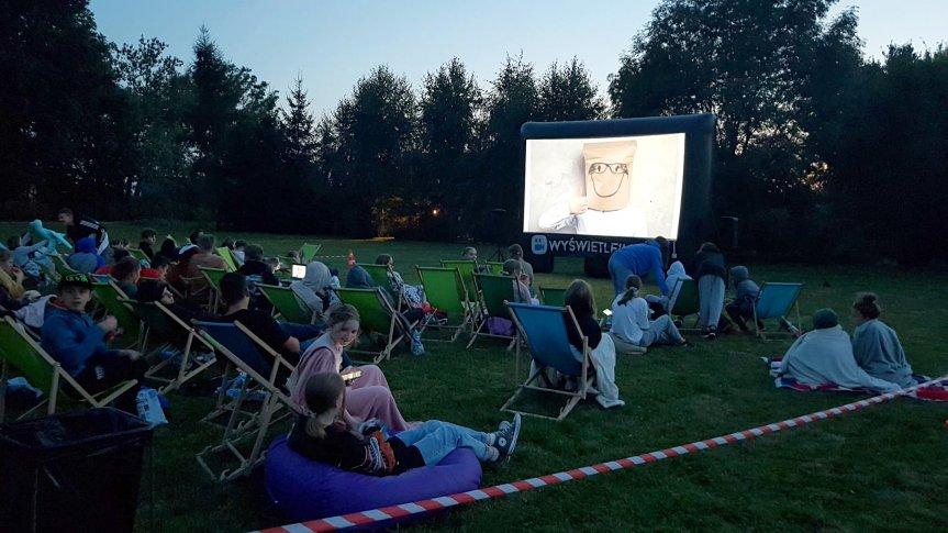 Zapraszamy młodzież na kino plenerowe