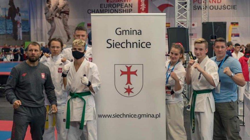 Zawodnicy Siechnickiego Klubu Karate Kyokushin na Mistrzostwach Europy w Świnoujściu