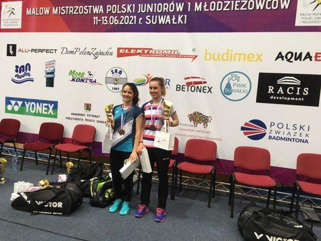 Mieszkanka gminy Mistrzynią Polski w Badmintonie