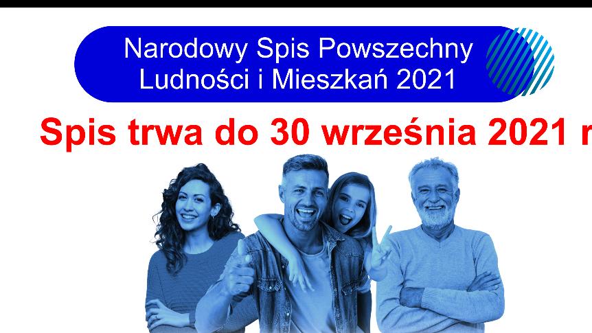 NSP 2021 plakat informacyjny